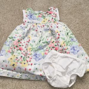 Janie & Jack dress 0-3m